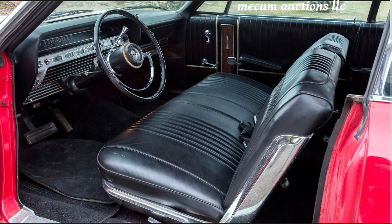 On The Block 1967 Galaxie 500 Xl Convertible Update With Sold Price Ford Wiring Diagrams Interior Is Basic But Not Stripped