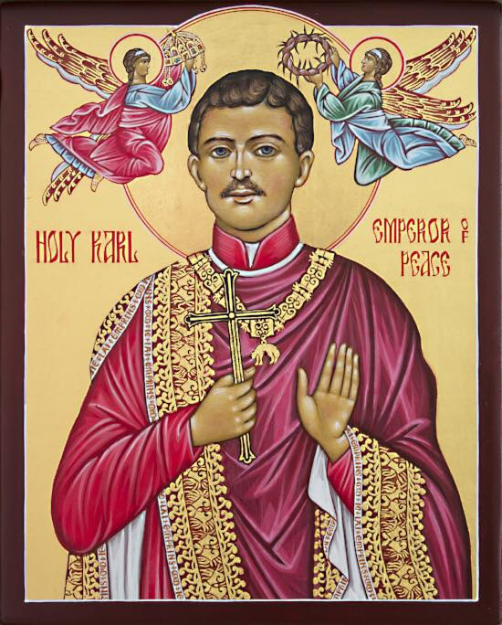 Blessed Karl, pray for us!