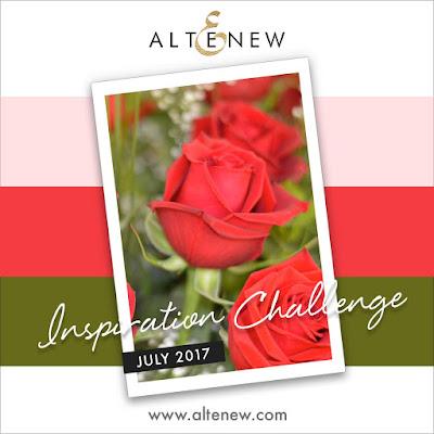 Altenew July 2017 Inspiration Challenge