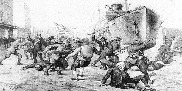 Πως αντιστρέφουν την αλήθεια για την βάρβαρη σφαγή της Σμύρνης