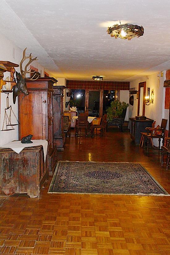 Landhaus Stil im Landgasthof