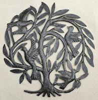 Дерево жизни с птицами