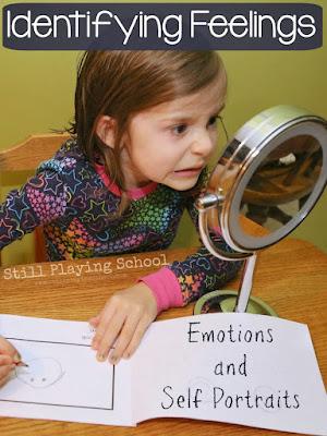 Identifying feelings through self portraits