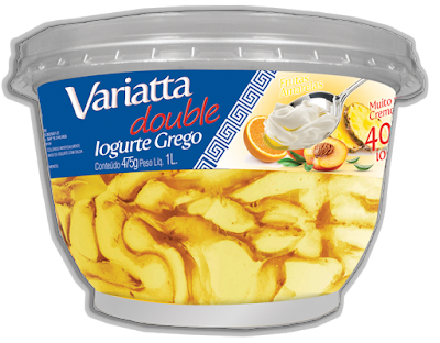 Sorvete de iogurte grego