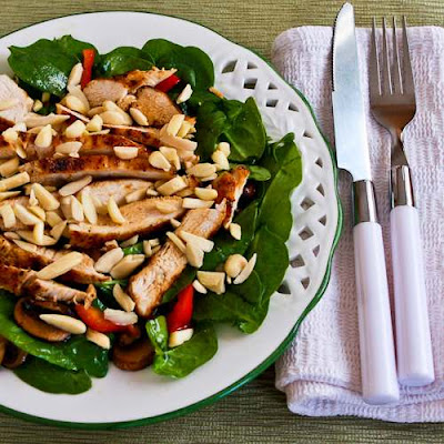 20 Low-Carb Beat-the-Heat Chicken Salads from Rotisserie Chicken found on KalynsKitchen.com