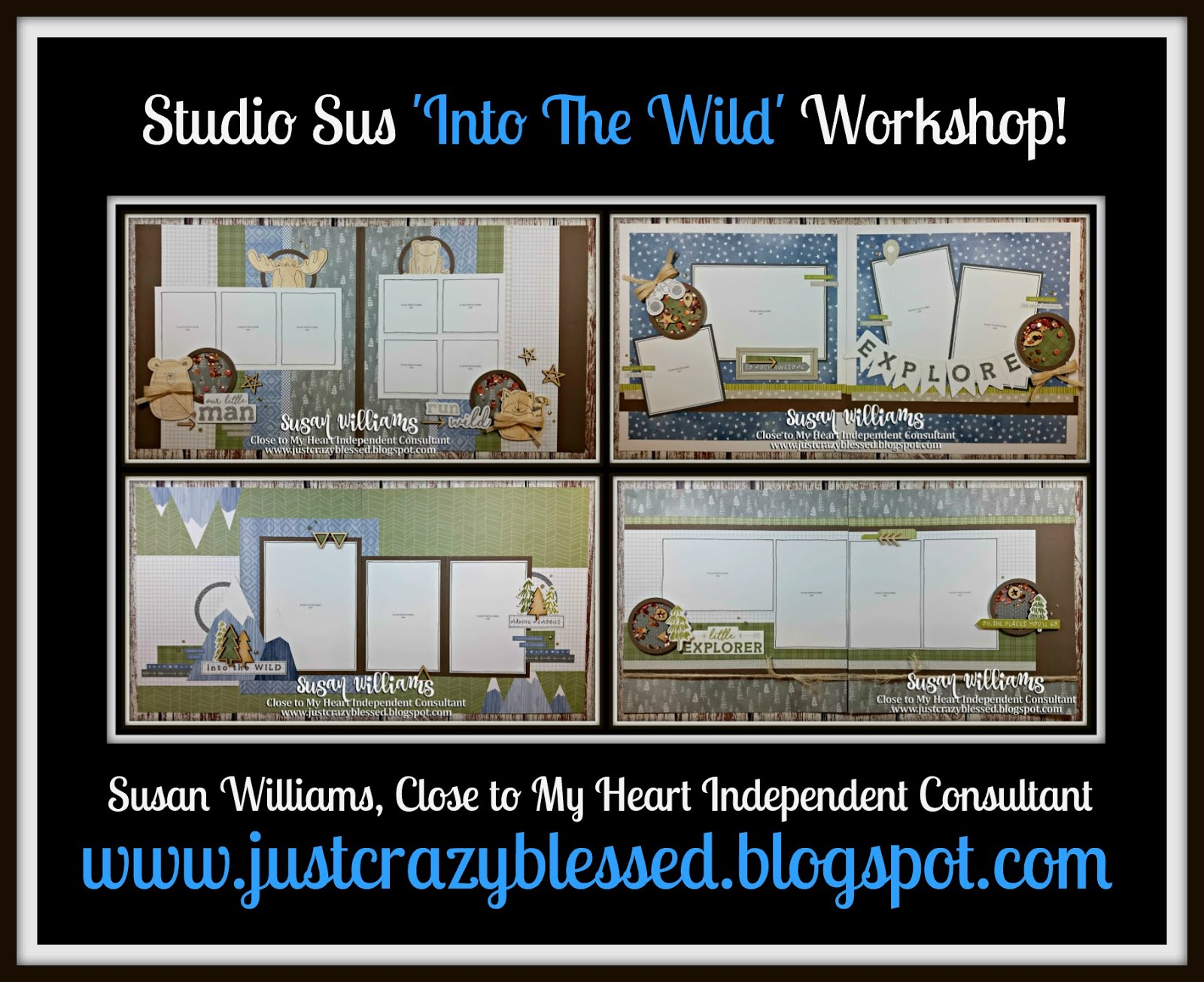 'Into the Wild' Scrapbooking Workshop!