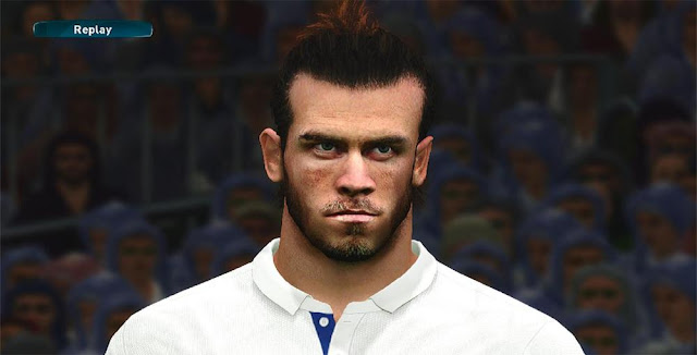 PES 2017 G. Bale Face by A.Hamdy Facemaker