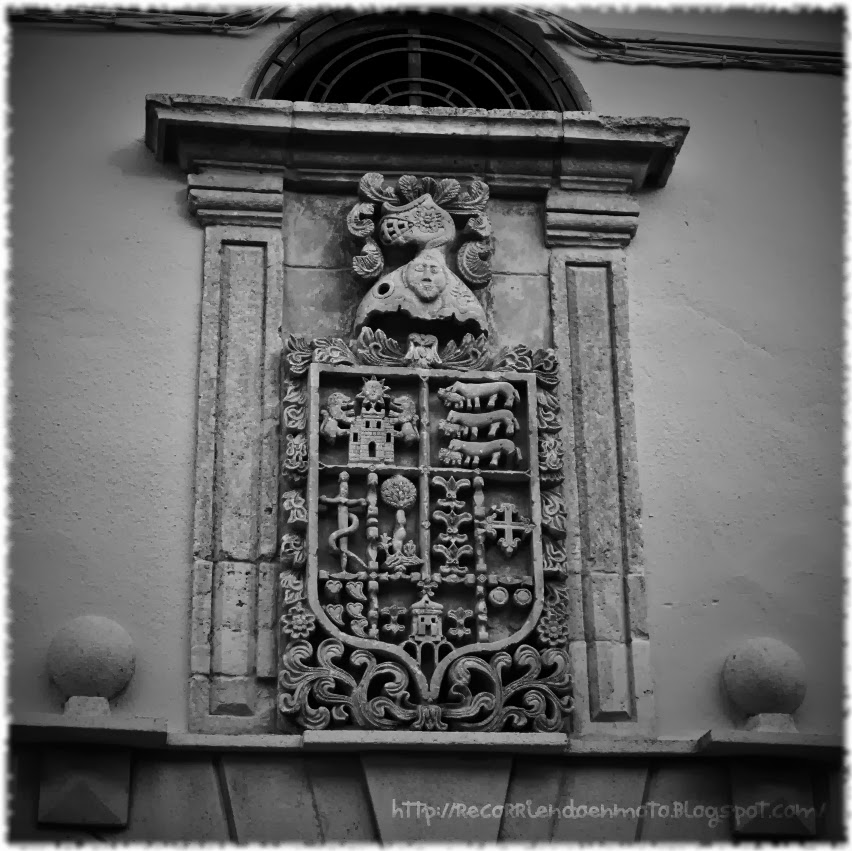 Escudo casa Sta Maria del Campo Rus