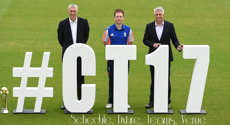 ICC Champion Trophy 2017 Schedule