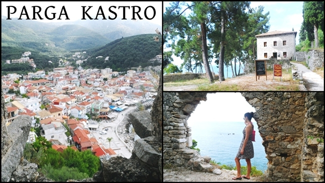 Parga Kastro video.Parga travel video.The Castle of Parga video.Parga tvrdjava video.