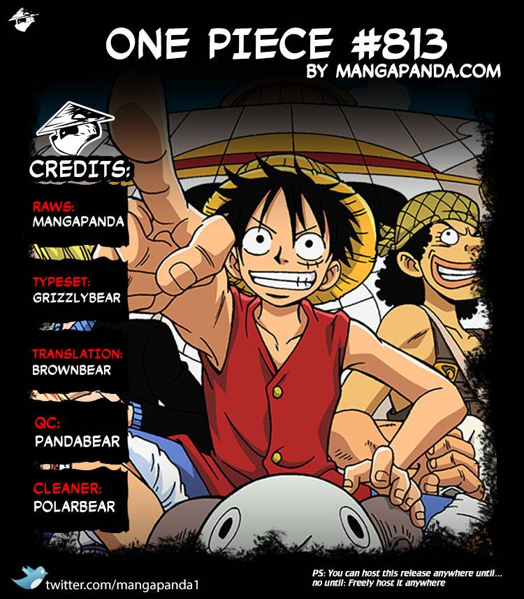 One Piece Ch.813: An Invitation to the Tea Party