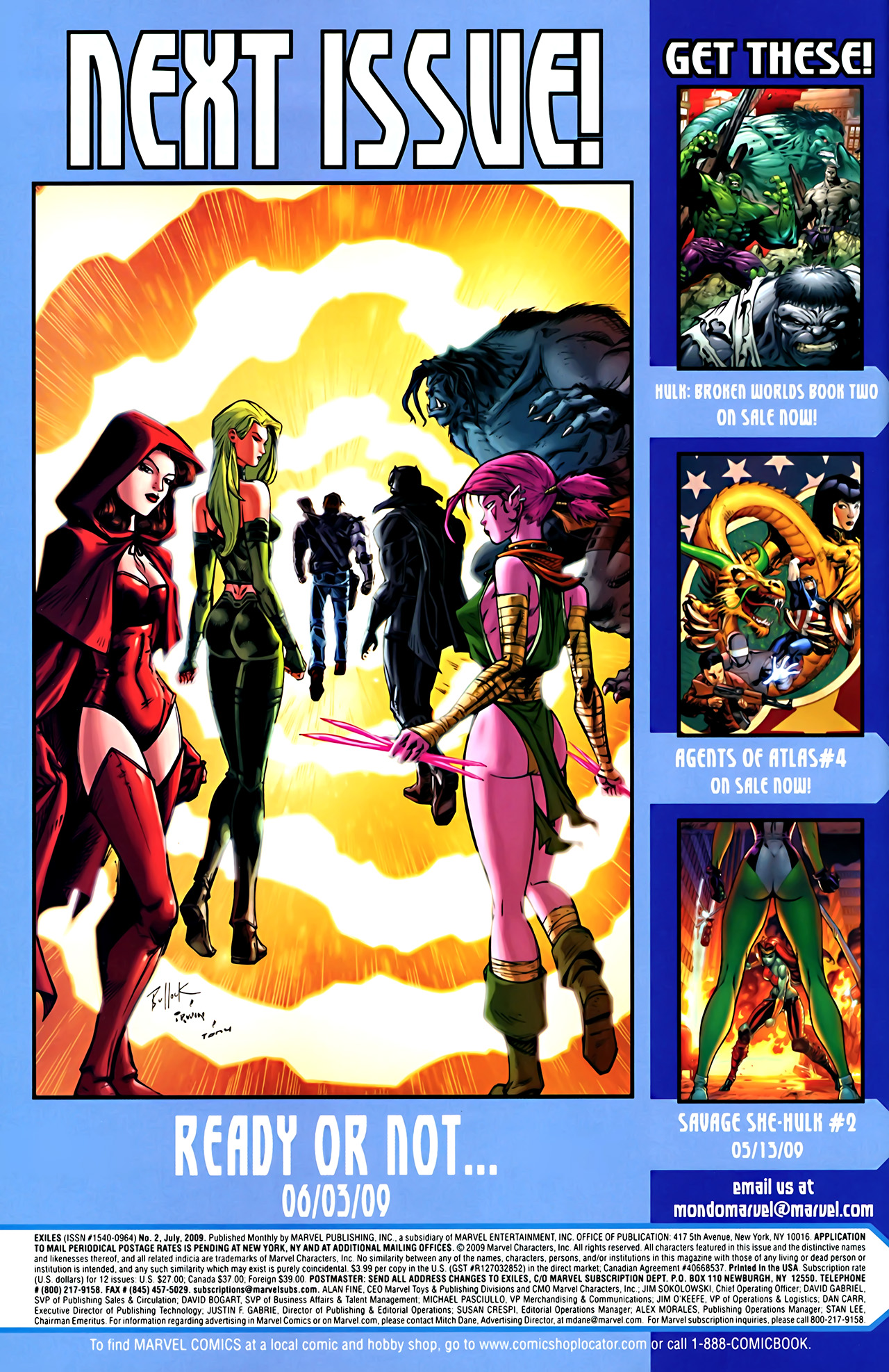 Read online Exiles (2009) comic -  Issue #2 - 24