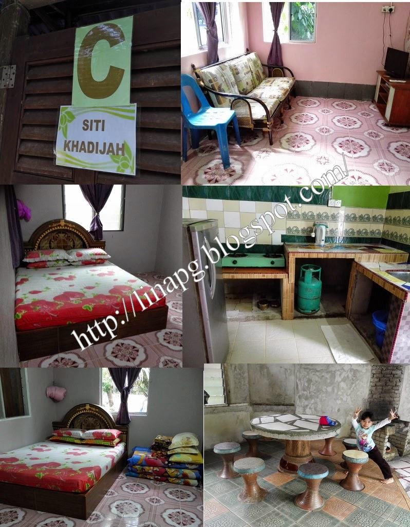 Chalet Siti Khadijah Ada 2 Bilik Tido Air Persalinan Tepi Kolam Dapur Ruang Bbq