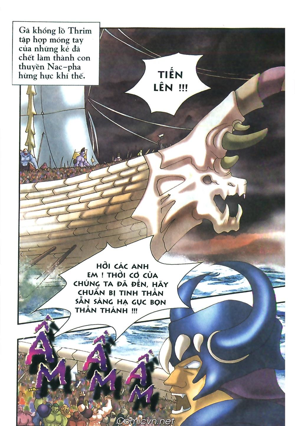 Thần thoại Bắc Âu - Chapter 48: Cuộc chiến Ragnarok - Pic 35