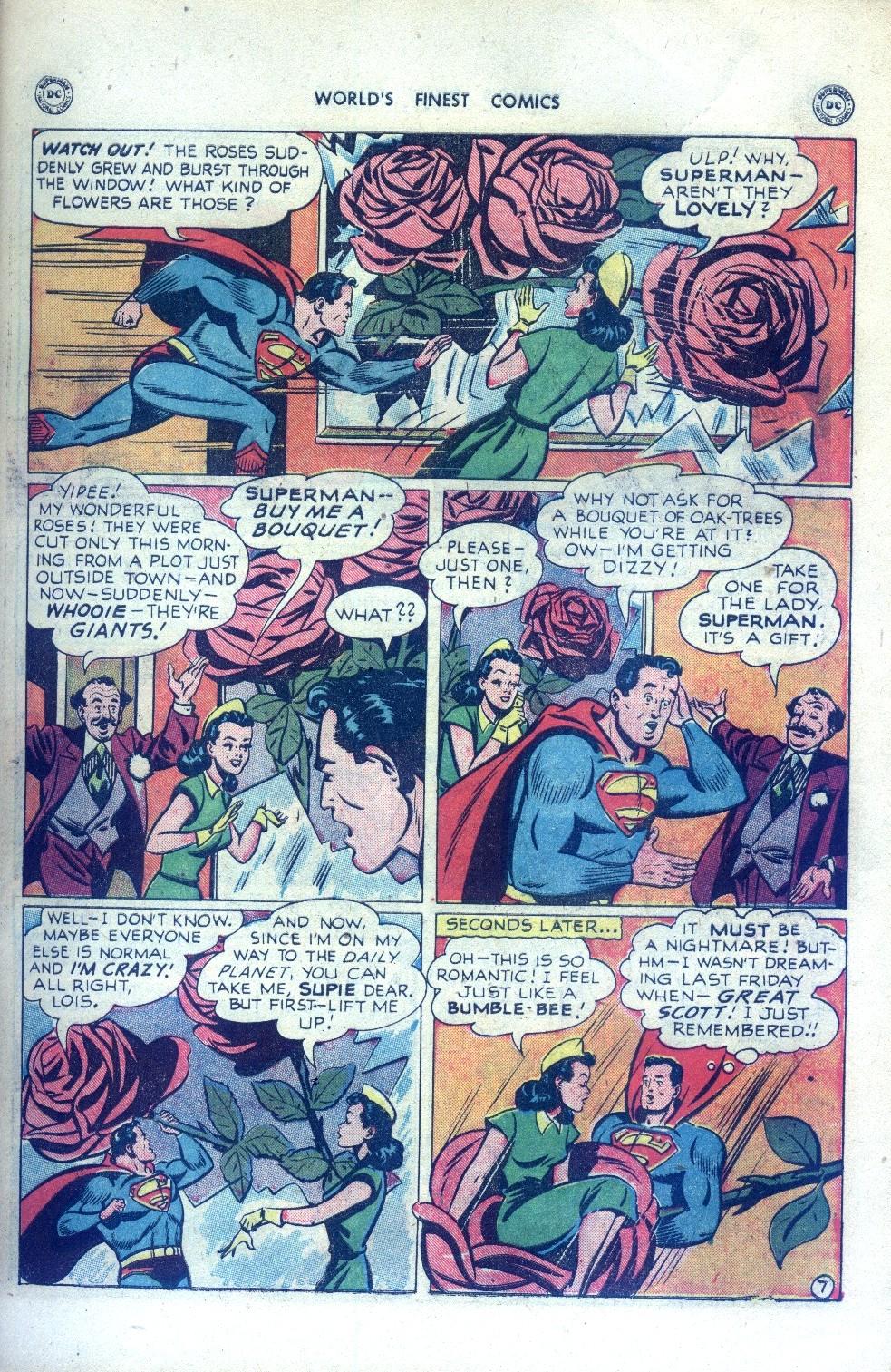 Read online World's Finest Comics comic -  Issue #43 - 9