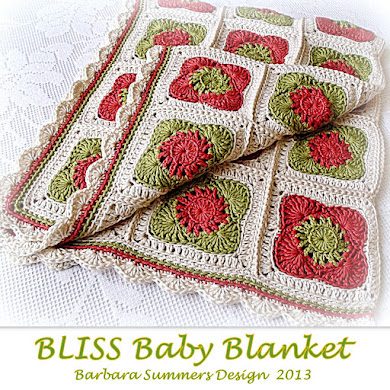 BLISS Baby Blanket PATTERN