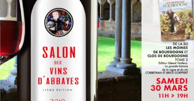 Blog vin Beaux-Vins evenements dégustation oenologie sortie Mars Salon des Vins d'Abbayes