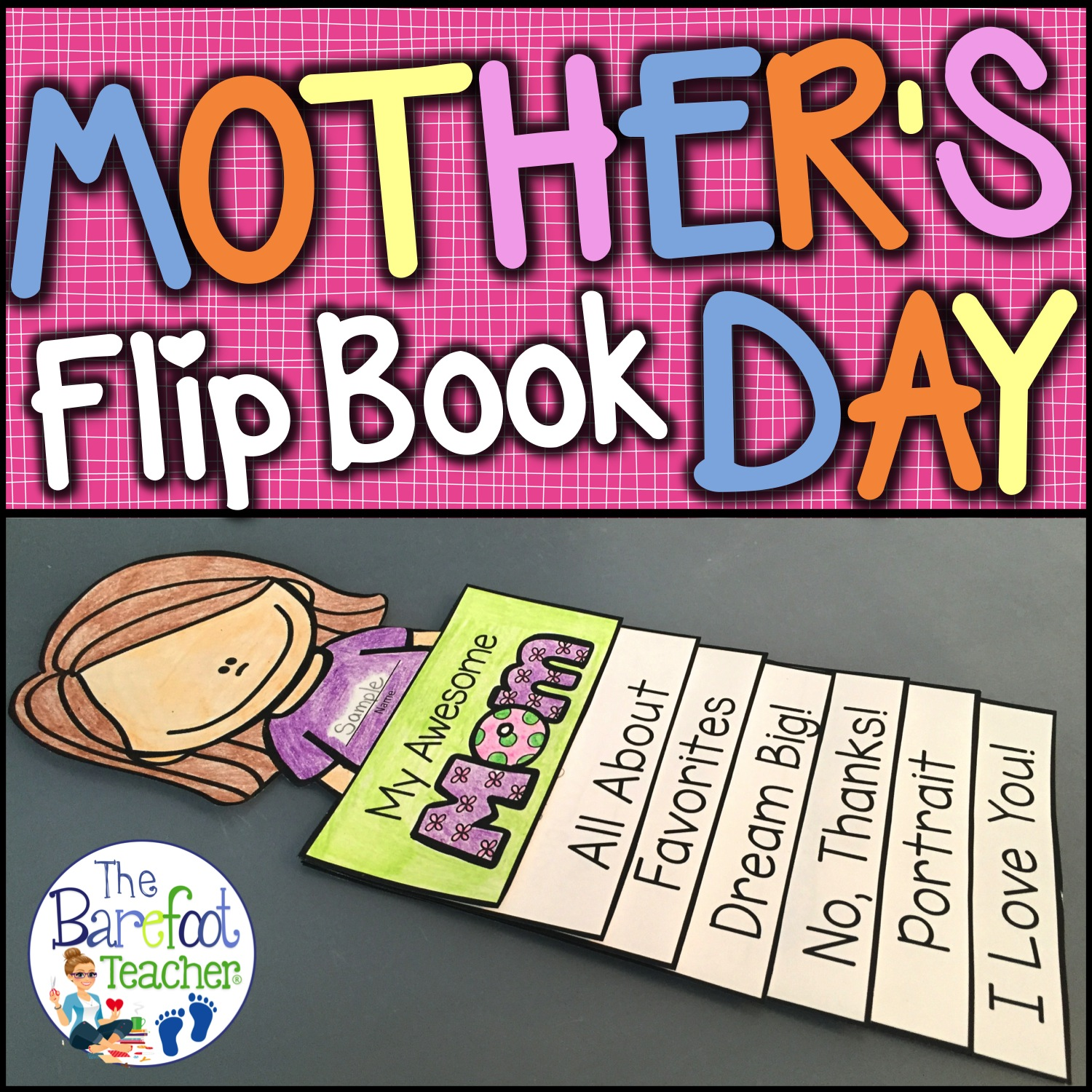 mothers day flip book - HD1500×1500