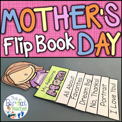 This Mother's Day Flip Book is fun, easy, and will go along with the other gift ideas and crafts you have planned for your kids to do for their moms, aunts, or grandmas. 6 tabs provide info that shows how much your Preschool or Kindergarten littles know about their special someone while incorporating writing practice at the same time. Simple cutting and easy assembly allows for all students to happily succeed! #mothersday #mothersdaygift #mom #activitiesforkids #mothersdayforkids #kindergarten