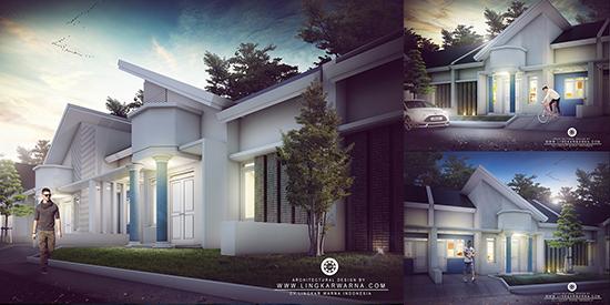 Desain Rumah Minimalis Ukuran 10x15 Meter 4 Kamar Tidur 1