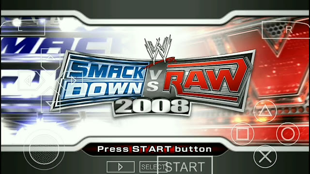 WWE SmackDown VS Raw 2008 Featuring ECW ISO PPSSPP For Android