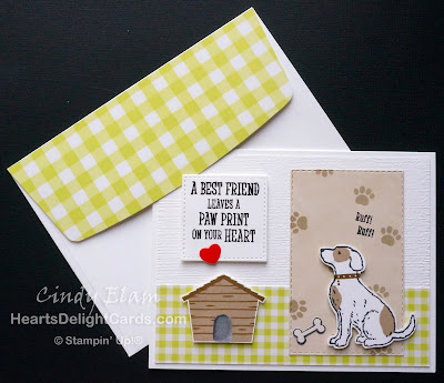 Heart's Delight Cards, Happy Tails, Dog Builder Punch, Control Freaks, Dogs, Occasions 2019, Stampin' Up!