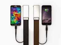 Xoo Belt, Isi Baterai Smartphone Via Ikat Pinggang