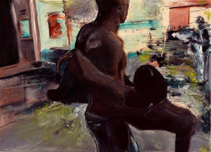 Французский художник. Stephane Czyba