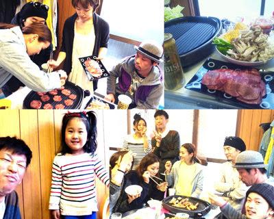 焼き肉ホームパーティー