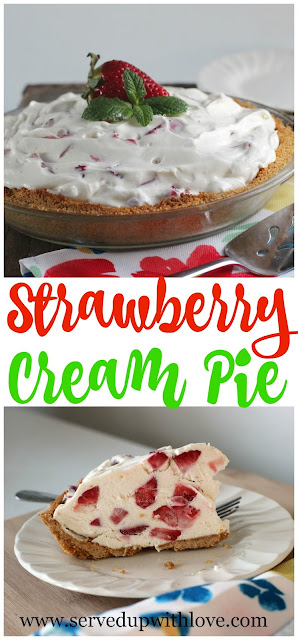 strawberry-cream-pie
