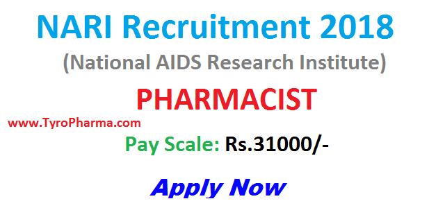 nari-pharmacist-recruitment-2018,pharmacist job,pune maharashtra,nari jobs 2018