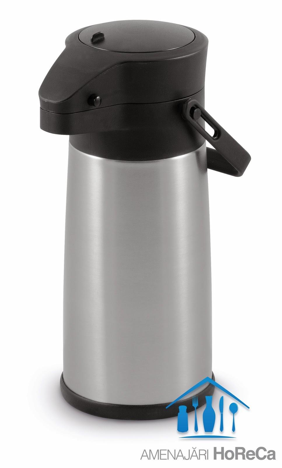 Termos cu Pompa, Termos cafea cu pompa, termosuri profesionale