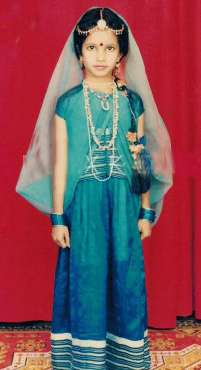 Shubha Poonja Childhood