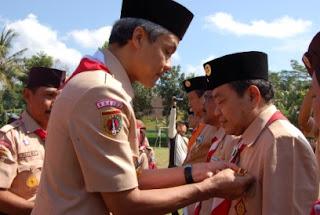 Gubernur Provinsi Jawa Tengah Memperingati Hari Pramuka