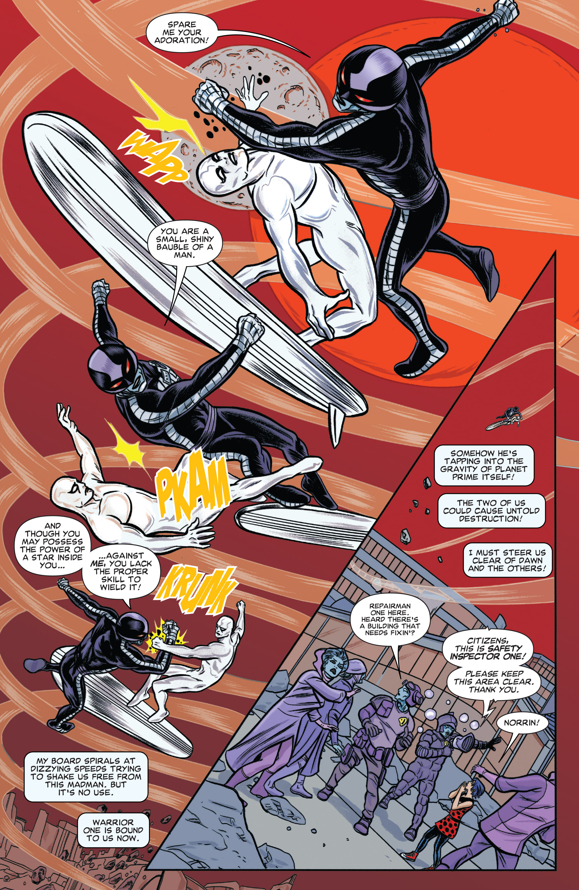 Read online Silver Surfer (2014) comic -  Issue #6 - 15