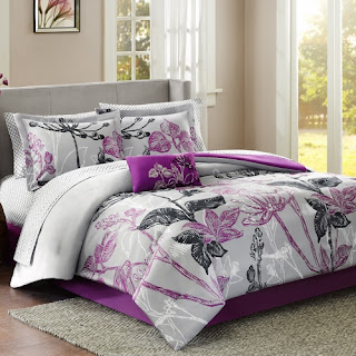 Purple bedroom ideas: Claremont set