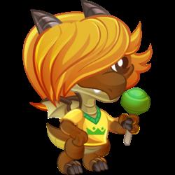 Dragon Shawmar apparence de l'enfant