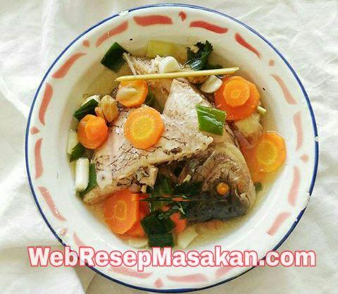 Sup Gurame Asam Pedas, resep sup ikan gurame asam pedas,