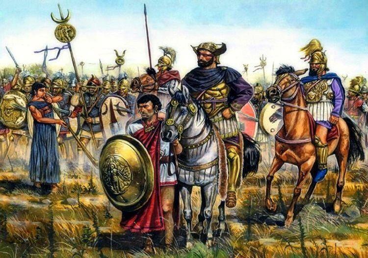 Hannibal Barca, Roma'ya ikinci bir saldırı yapmak için hazırlıklara başlamıştı.