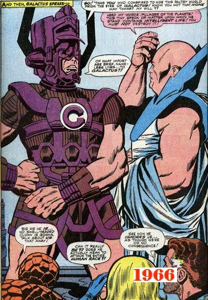 Fantastic Four 49-Galactus-Watcher
