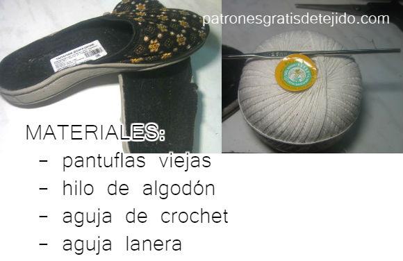materiales-para-tejer-zapato-crochet