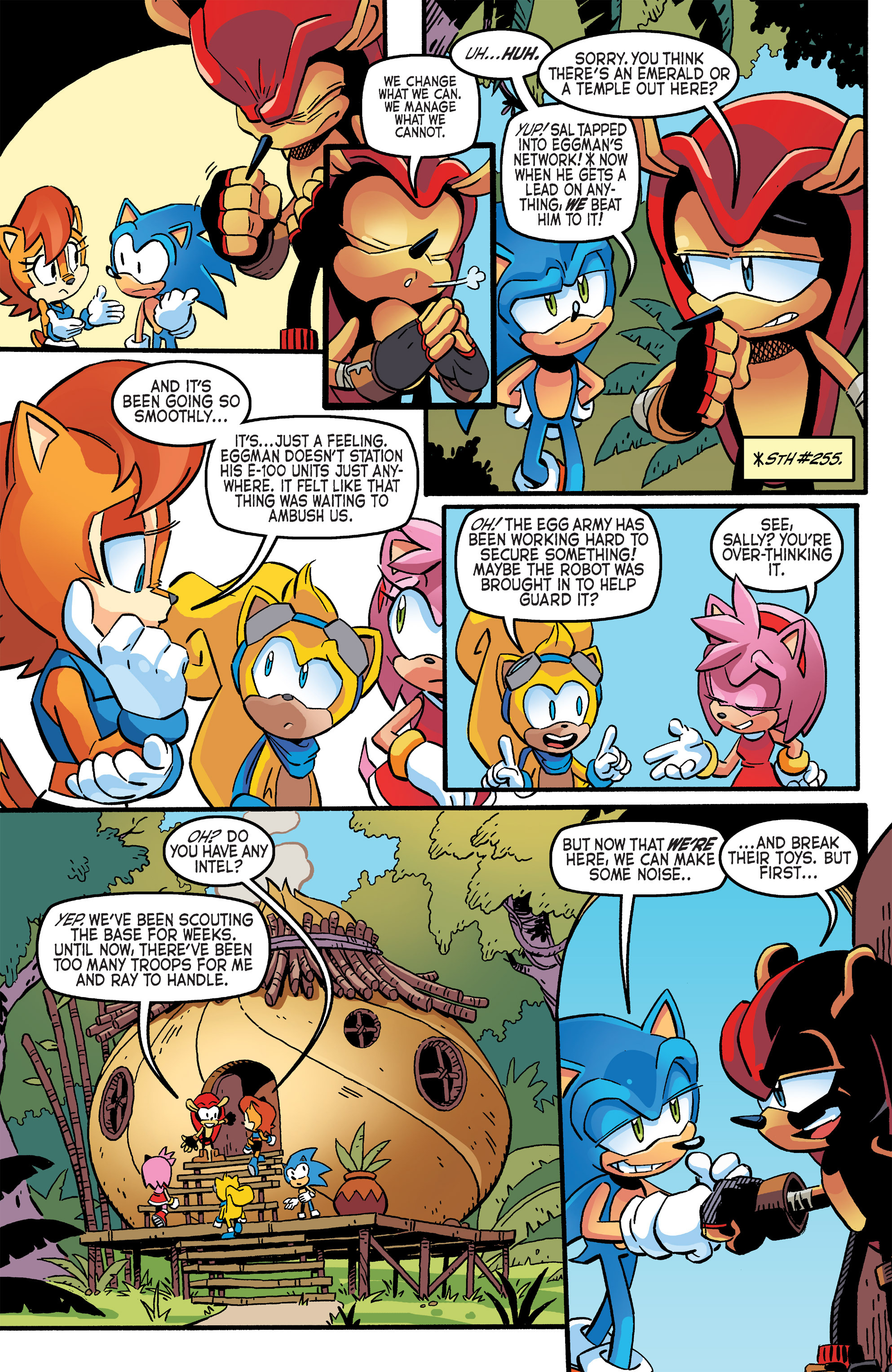 Read online Sonic The Hedgehog comic -  Issue #264 - 10