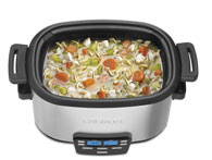 Slow cook method with cuisinart 3-In-1 multi cooker