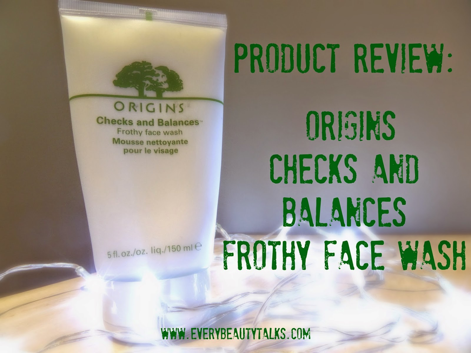 Checks And Balances Frothy Face Wash by origins #12
