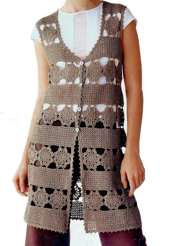 #crochet #cardigan #vest
