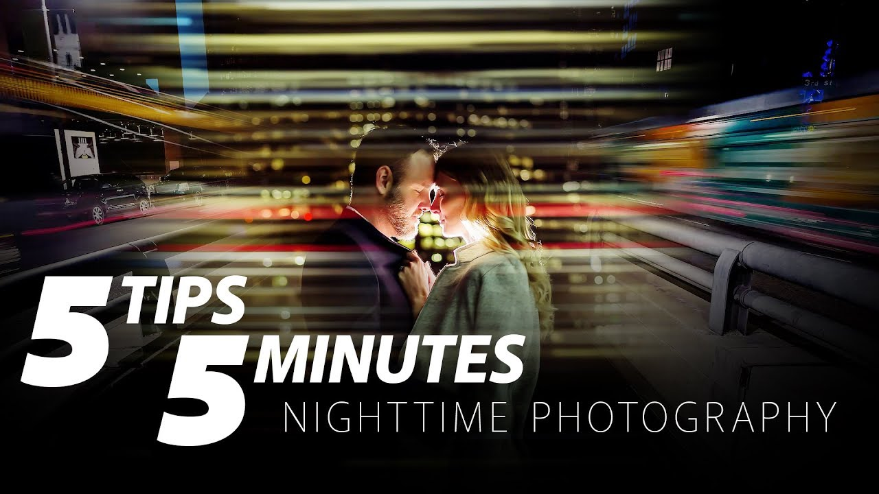 5 Nighttime Photography Tips in 5 Minutes - Blog Photography Tips