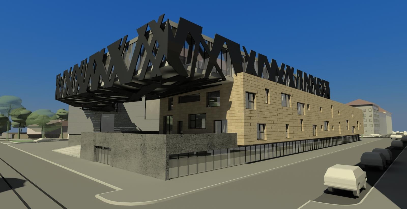 Hergo arquitectura e infograf as escuela de m sica for Escuela arquitectura
