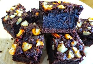 Resep Membuat Kue Candlenut Chilli Brownies