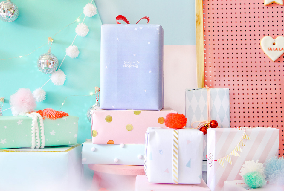blog do math minimal DIY pastel cute christmas decor