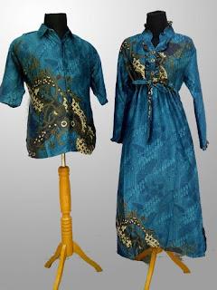 Long Dress Batik Kombinasi Remaja